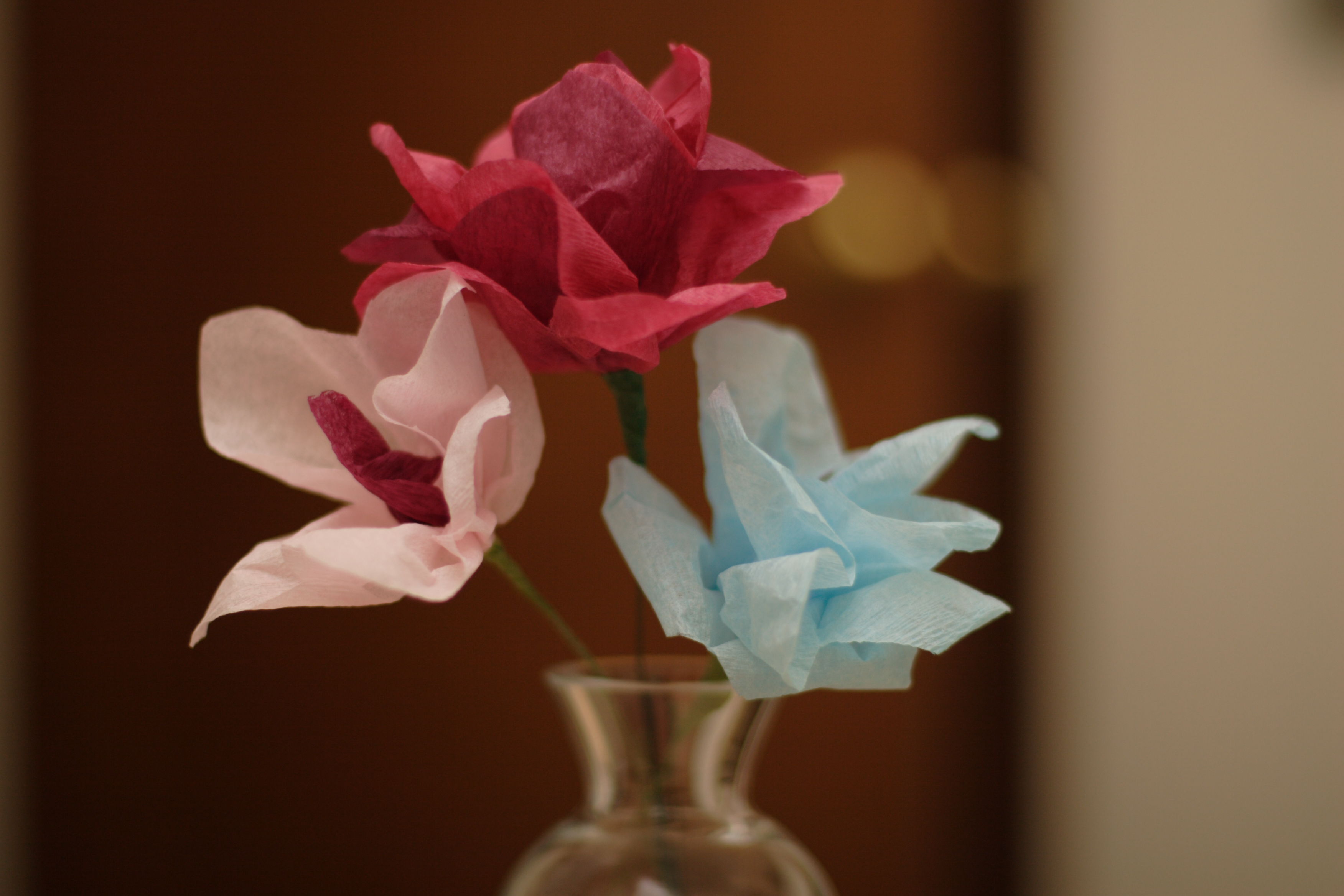 Craft Fail Paper Flowers Darnsexysecondhand