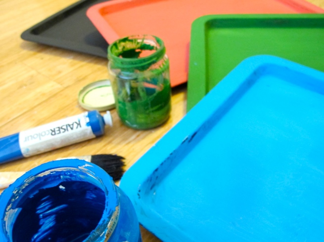 DIY Magnetic Chalk Activity Boards